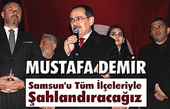 Mustafa Demir'e Asarağaç'ta sevgi seli